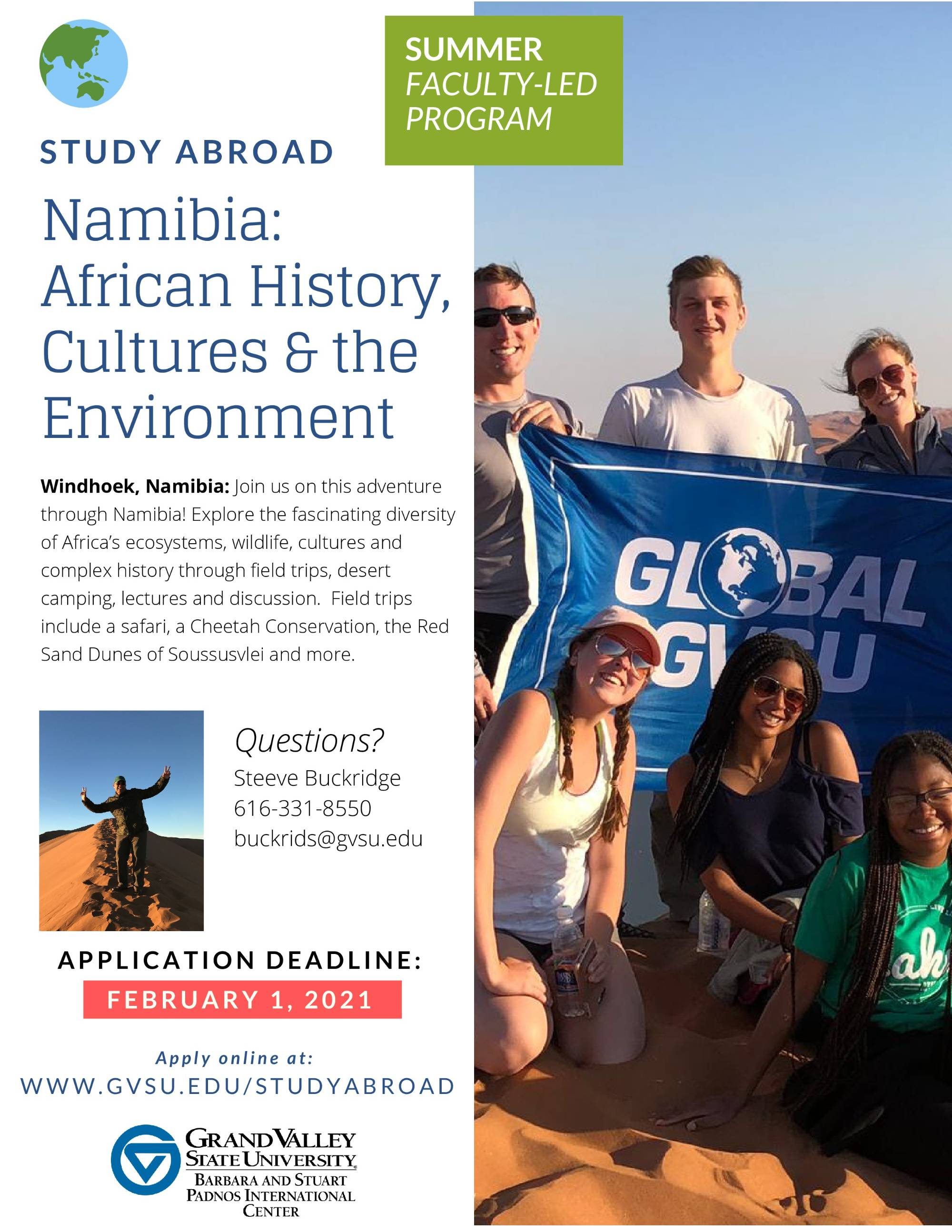 Namibia Padnos Flyer Page 1